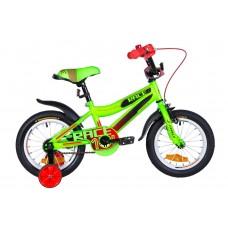 """Велосипед 14"""" Formula RACE 2021 (зелено-черный с красным (м))"""