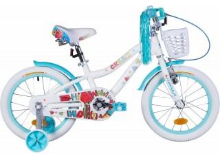 """Велосипед 16"""" Formula CREAM 2021 (бело-аквамариновый)"""