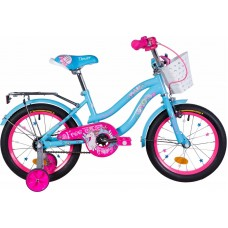 """Велосипед 16"""" Formula FLOWER 2020 (голубой)"""