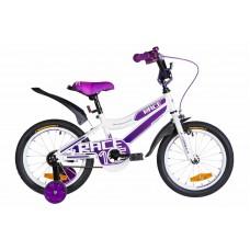 """Велосипед 16"""" Formula RACE 2020 (бело-фиолетовый)"""