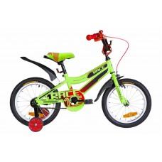"""Велосипед 16"""" Formula RACE 2020 (зелено-черный с красным (м))"""