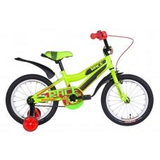 """Велосипед 16"""" Formula RACE 2021 (зелено-черный с красным (м))"""