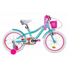 """Велосипед 18"""" Formula CREAM 2021 (бело-аквамариновый)"""