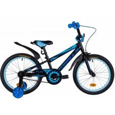 """Велосипед 18"""" Formula SPORT 2021 (бело-зеленый с серым)"""