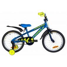 "Велосипед 18"" Formula WILD 2021 (синий с желтым)"