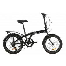 """Велосипед 20"""" Dorozhnik ONYX складний 2020 (черный)"""