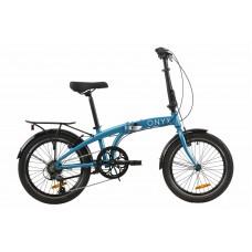 """Велосипед 20"""" Dorozhnik ONYX складний 2020 (синий)"""