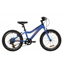 """Велосипед 20"""" Formula ACID 2020 (сине-черно-оранжевый)"""