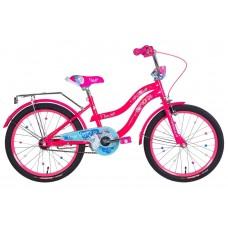 """Велосипед 20"""" Formula FLOWER 2021 (розовый с голубым)"""