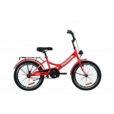 """Велосипед 20"""" Formula SMART с фонарём 2020 (красный)"""