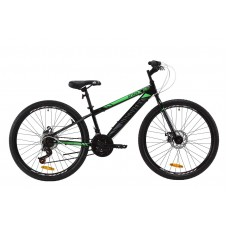 "Велосипед 26"" Discovery ATTACK DD 2020 (черно-зеленый с серым)"