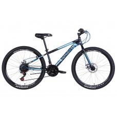 "Велосипед 26"" Discovery ATTACK DD 2021 (графитовый с желтым (м))"