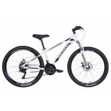 """Велосипед 26"""" Discovery BASTION 2021 (бело-черный)"""