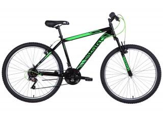 """Велосипед 26"""" Discovery RIDER 2021 (черно-зеленый )"""