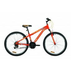 """Велосипед 26"""" Discovery RIDER 2020 (красно-оранжевый с синим (м))"""