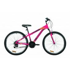 """Велосипед 26"""" Discovery RIDER 2020 (малиново-черный с желтым)"""