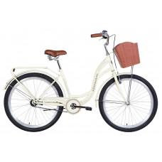 "Велосипед 26"" Dorozhnik AQUAMARINE 2021 (бежевый)"
