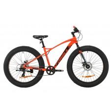 """Велосипед 26"""" Formula PALADIN DD 2020 (красно-черный с бирюзовым)"""