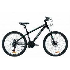 """Велосипед AL 26"""" Formula THOR 2.0 AM DD 2020 (черно-бирюзовый с серым (м))"""