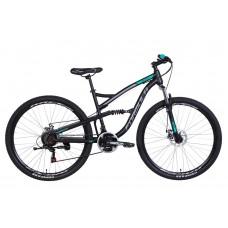 """Велосипед 29"""" Formula SPARK 2021 (серо-черный с салатным (м))"""