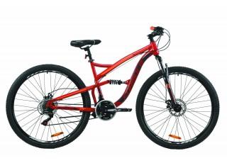 """Велосипед 29"""" Formula SPARK DD 2020 (рубиново-серый с оранжевым)"""