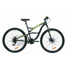"""Велосипед 29"""" Formula SPARK DD 2020 (бело-черный с оранжевым )"""