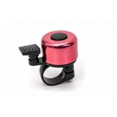 Звонок велосипедный мини розовый BC-BB3201A