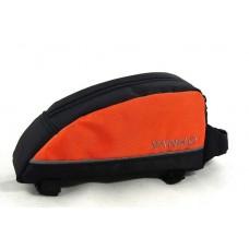 Велосумка на раму BC-BG021 21*10*6cm черно-оранжевый