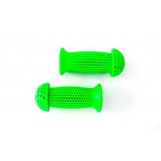 Грипсы PVC L95мм FSK-BH-139-A для детских велосипедов салатовый