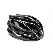 Шлем велосипедный FSK AH404 чёрно-белый